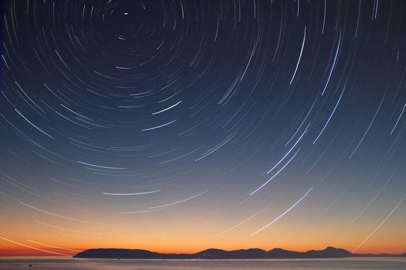 Image of a starry night sky symbolic of oneness