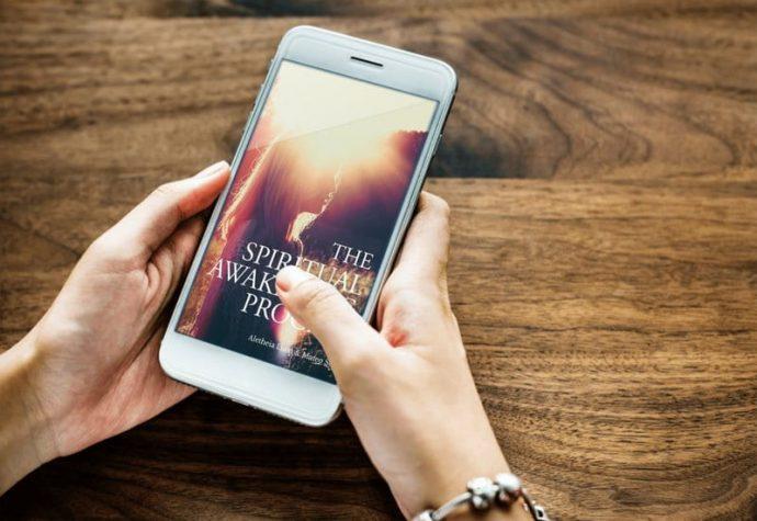 Spiritual awakening process book on mobile