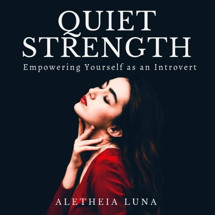 Quiet strength book image