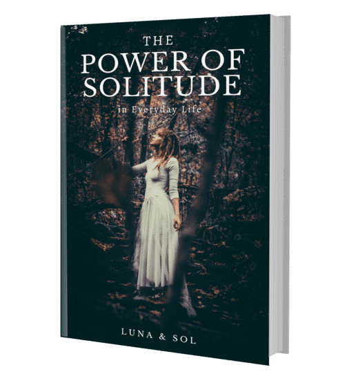 The power of solitude book image