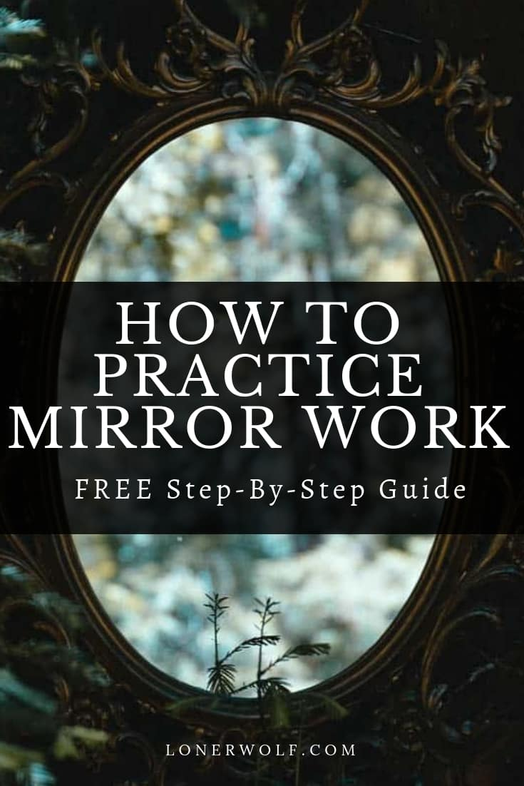 Mirror work is strangely confronting, intimidating, a little embarrassing, but also profoundly healing. Learn how to do this simple but powerful practice! #mirrorwork #louisehay #innerwork #innerchildwork #soulwork