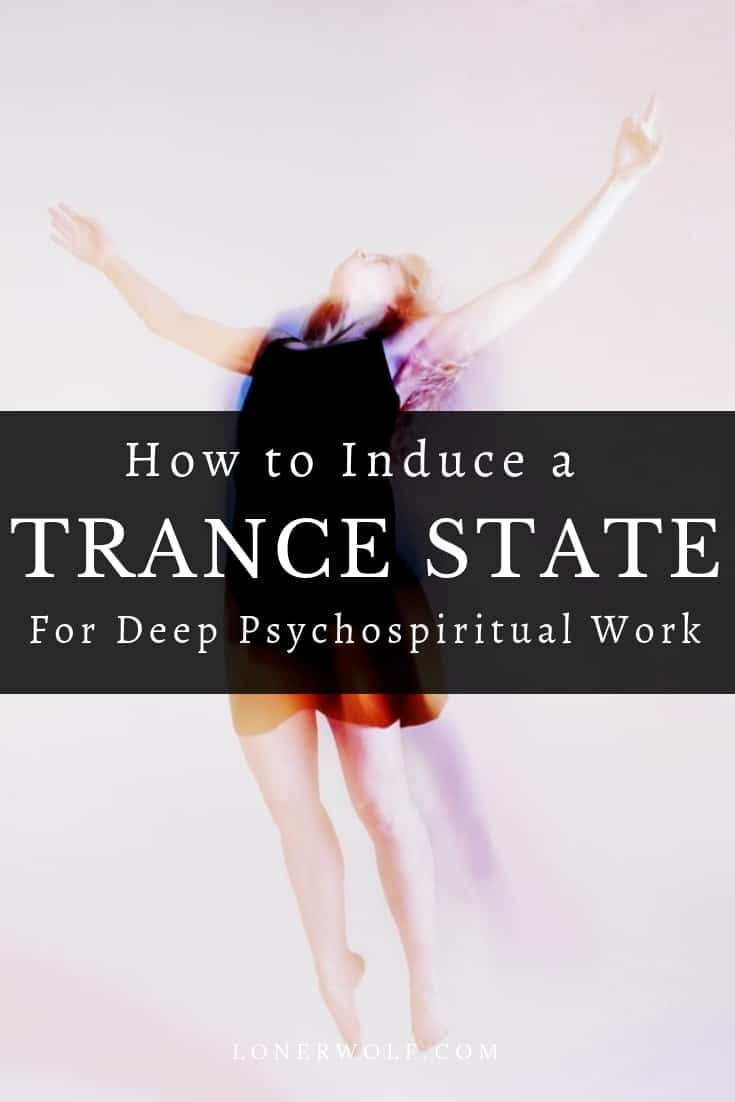 A trance state is an altered form of consciousness in which a person is neither fully awake nor fully asleep. This mental space is perfect for spiritual and psychological transformation! Click to keep reading. #trance #alteredstateofconsciousness #shamanism #breathwork #innerwork #soulwork #spiritualwork #spiritualjourney #shamanicjourneying #shamanicjourney #psychospiritual #selfhypnosis #hypnosis