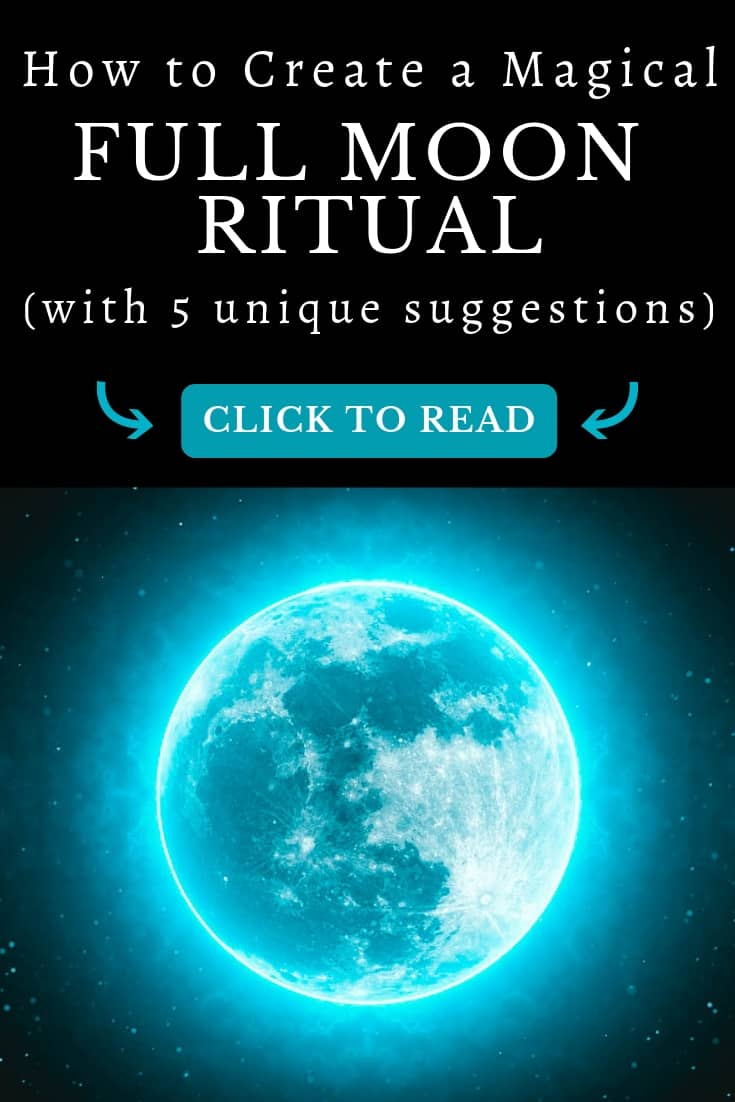 The full moon carries the energy of amplification, subconscious power, and illumination. Learn to create your own 100% unique rituals that carry true power and manifest your goals.