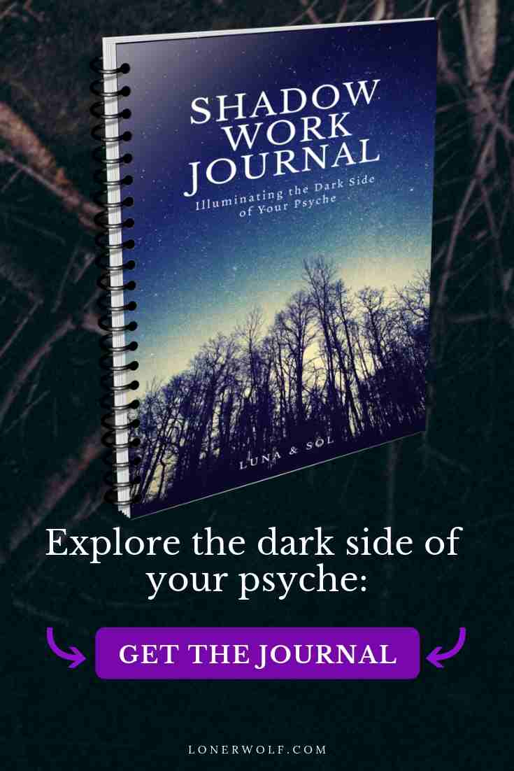 The Shadow Work Journal is a powerhouse spiritual tool designed to help you explore the deepest and darkest corners of your psyche. Go on a journey through your inner underworld with over sixty provocative journalling prompts and activities to help you explore the demons within. Be enchanted by twenty sumptuous and darkly atmospheric images included within the journal to set the mood for your shadow work. 