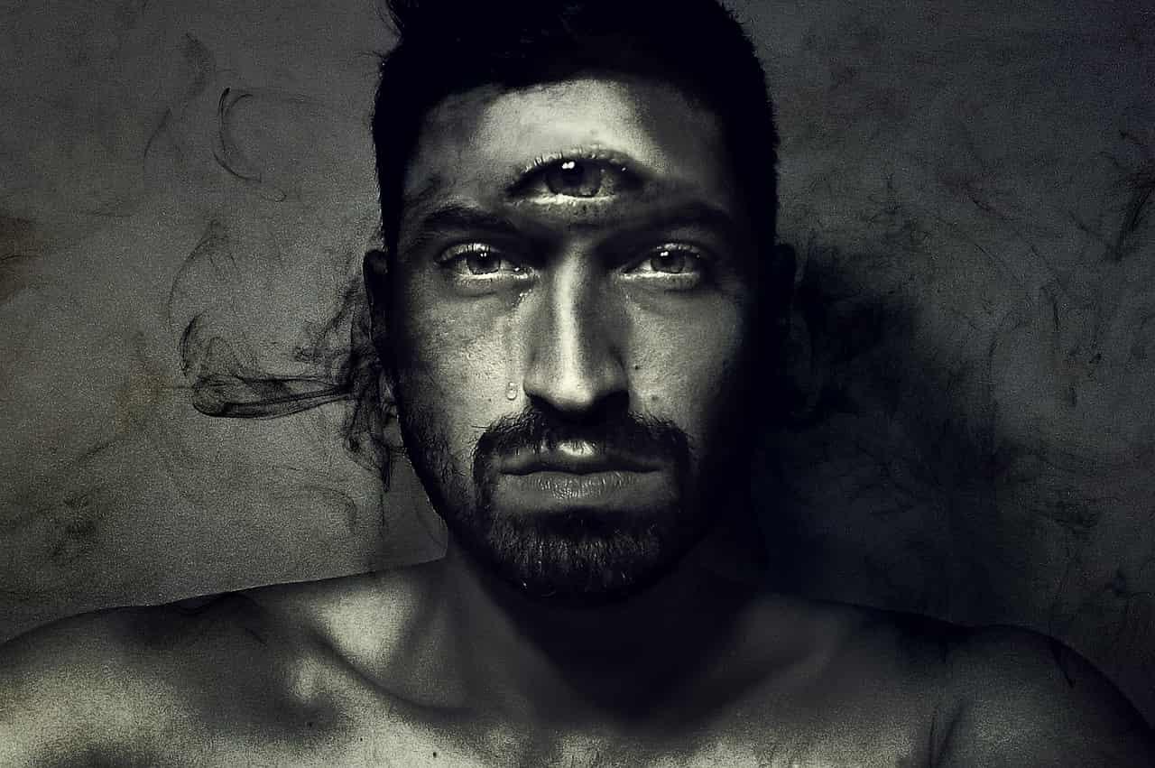 Image of a sad and depressed spiritual man