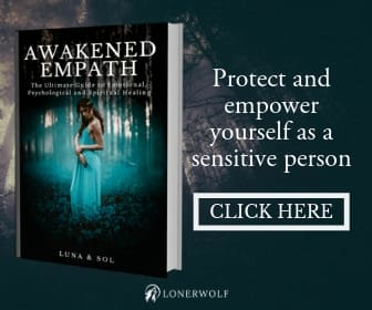 Awakened Empath Book Advertisement image
