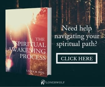 Spiritual Awakening Book Advertisement image