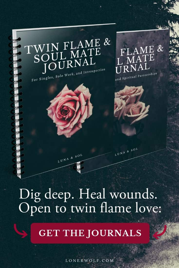 Dig deep, illuminate the shadows, heal wounds, practice self-love, and empower your relationship with our Twin Flame & Soul Mate Journals. These gritty, eye-opening journals will challenge you (and your partner) to grow in every way possible.