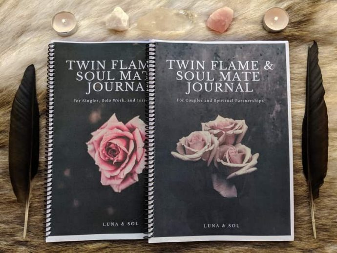 twin flames and soul mates journal 04