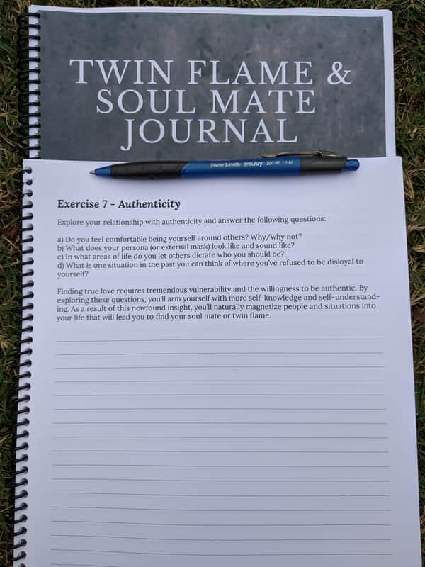 twin flames and soul mates journal 03