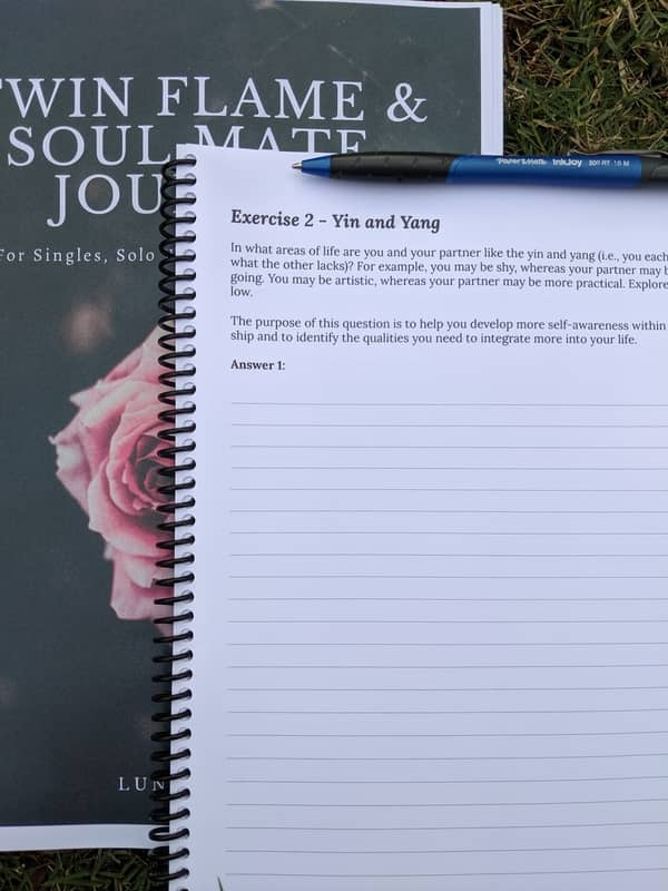 twin flames and soul mates journal 02