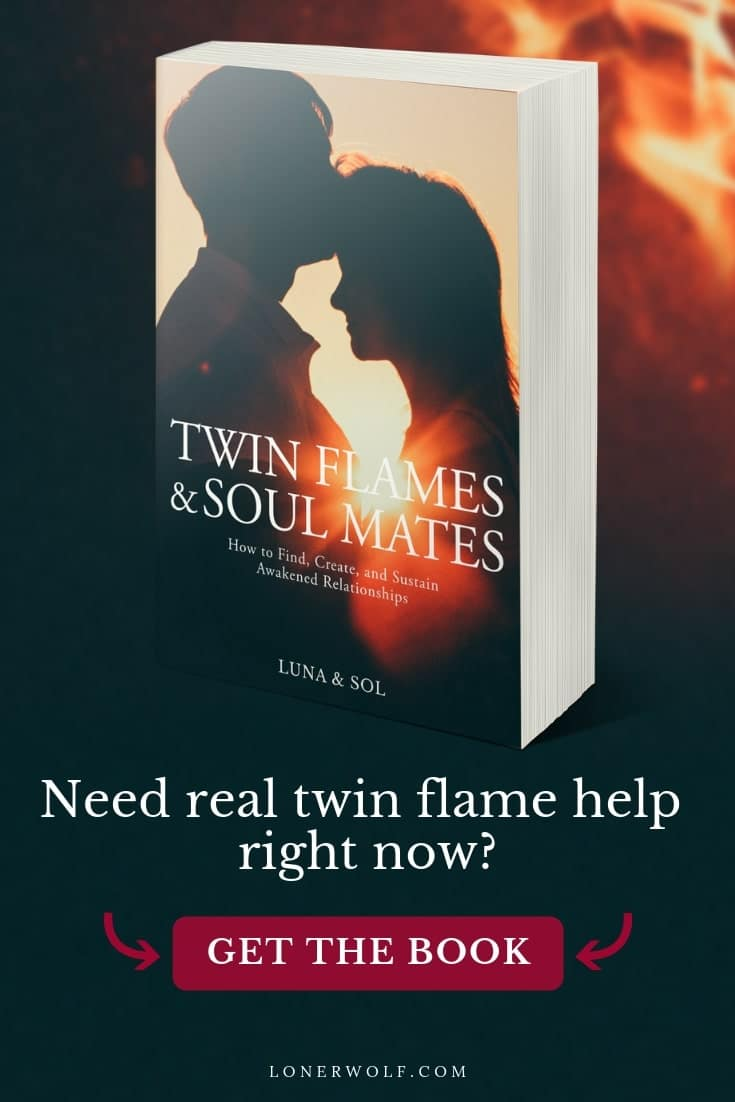 In this down-to-earth, heart-opening, authoritative guide to spiritual partnerships, Luna and Sol show you how to use the power of love to awaken yourself and your partner.   This book is geared towards twin flames and soul mates, but is for anyone interested in conscious relationships.  Learn about the major twin flame signs, twin flames vs soul mates, twin flame separation, the runner and chaser complex, and lots more ...  #twinflame #soulmate #twinflamefacts #twinflamesigns #soulmat...