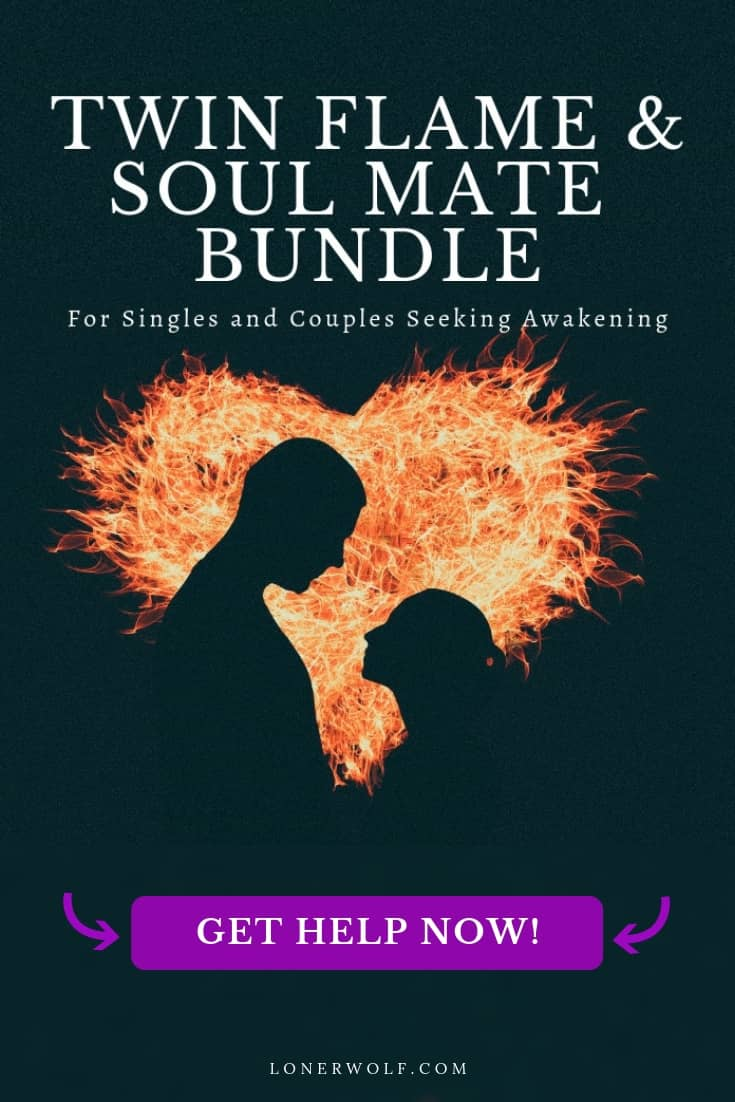 In this powerhouse resource, learn how to forge true, deep, and enduring twin flame and soul mate love – no matter what stage you're at, starting right now.  If you\'re wanting to experience twin flame union, but need help; if you have a twin flame runner or are in separation, this resource will help you to experience twin flame reunion. The same applies to soul mates!  Learn about the major twin flame stages, twin flames vs soul mates, and so much more in the bundle ...  #twinflame...