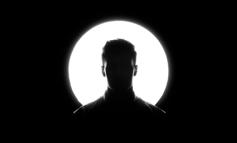 Image of a man's silhouette