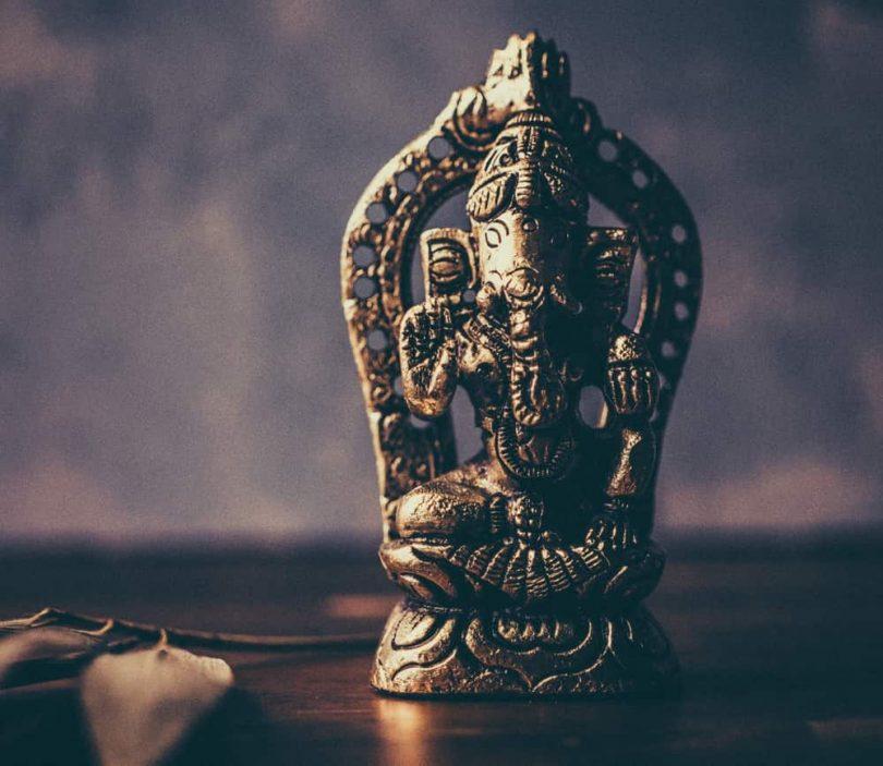 Image of a Ganesha Hindu statue