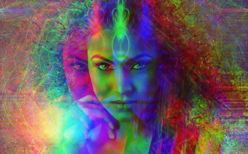 Image of the narcissistic spiritual ego