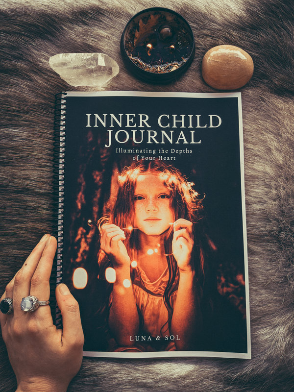 Printable inner child journal by luna and sol