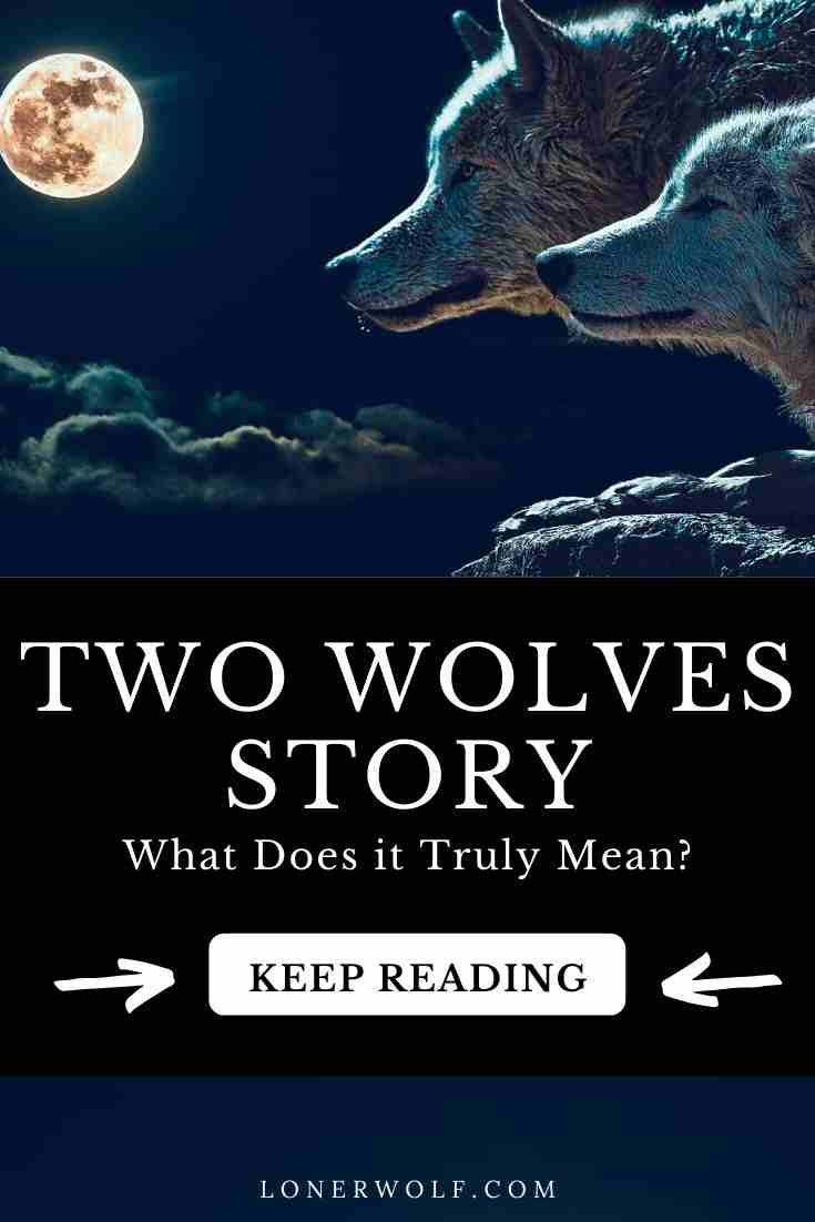 Here\'s how the Two Wolves story begins: Inside you there are two wolves. One is evil, the other is good. The bad wolf is full of rage, jealousy, arrogance ... #twowolves