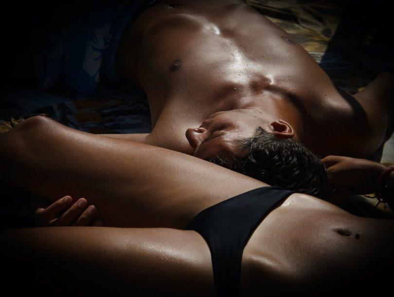 Image of a sensual man and woman