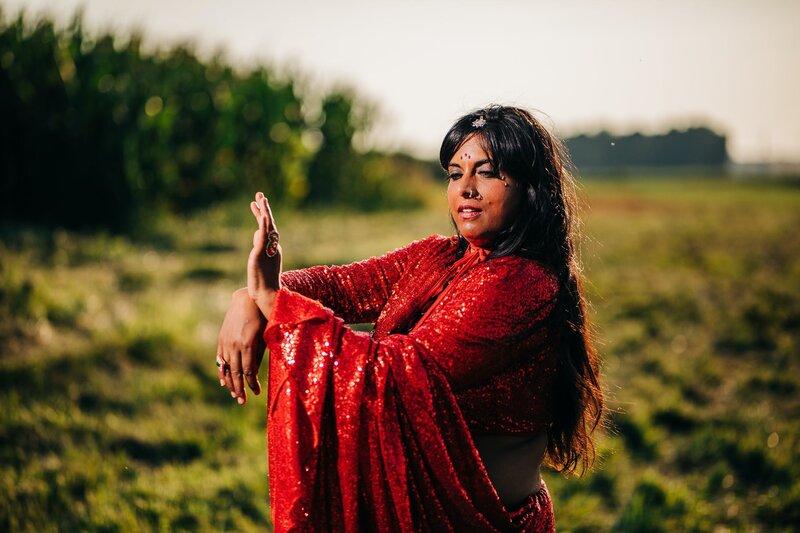 Image of a yogini
