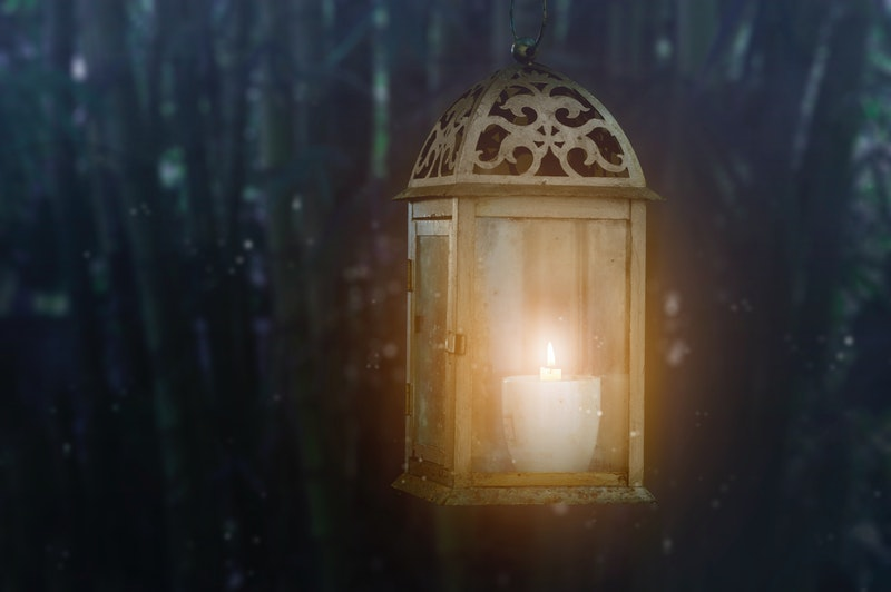 Image of a lamp that represents our true nature