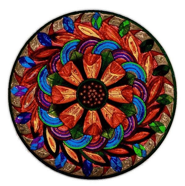 Image of a mandala that symbolizes spiritual integration