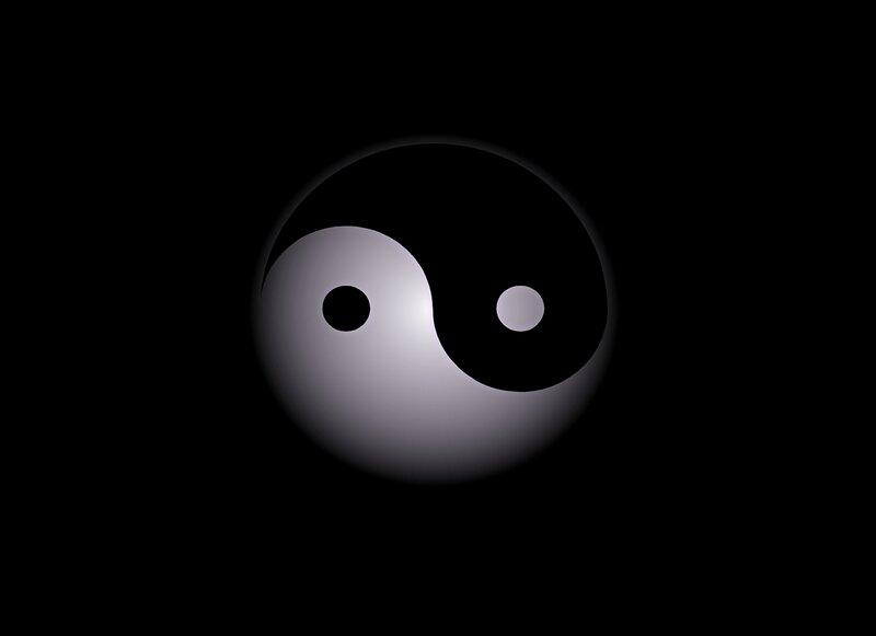 Yin yang symbol image