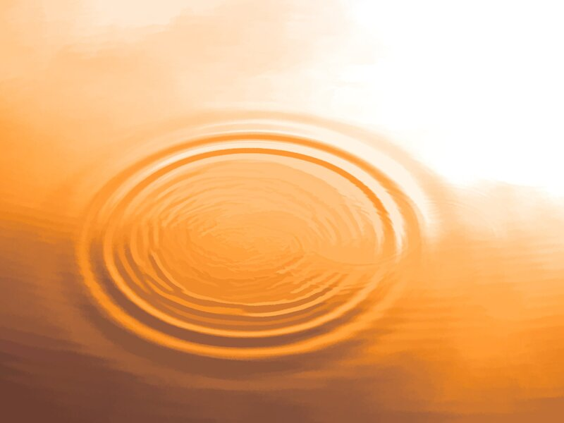 Image of ripples in the water