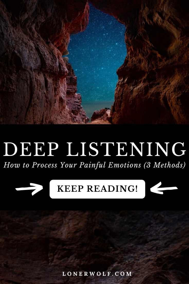 Deep Listening For Suffering Souls (3 Paths)