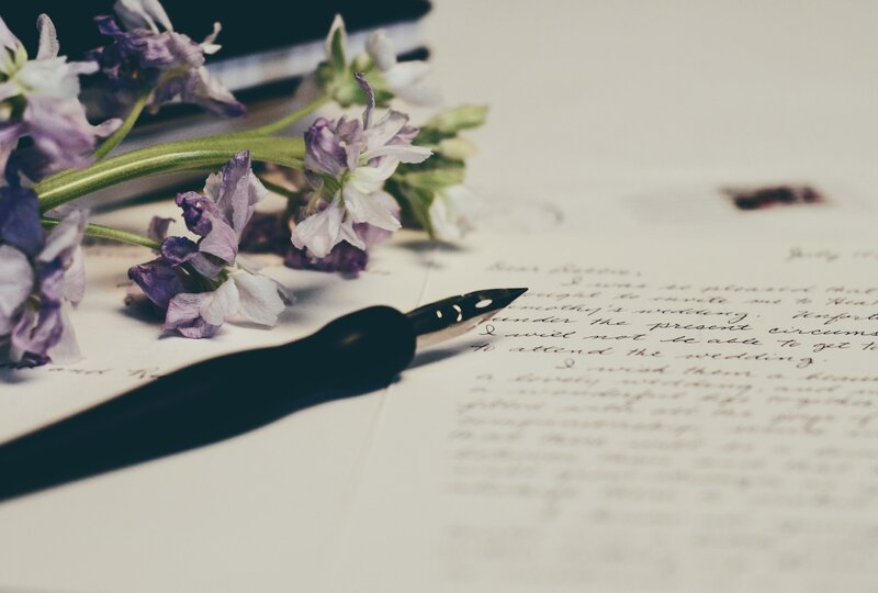 Image of pen and paper