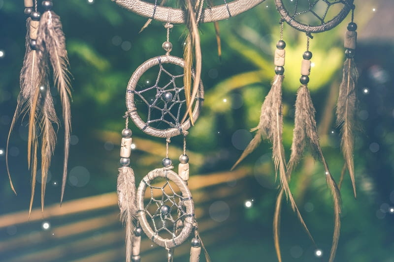 Image of a dream catcher used for dream work