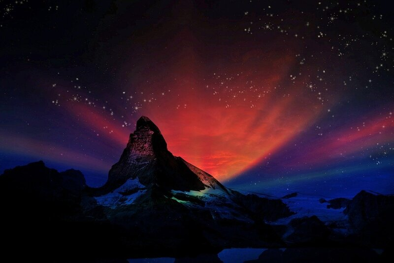 Image of a mysterious shamanic landscape