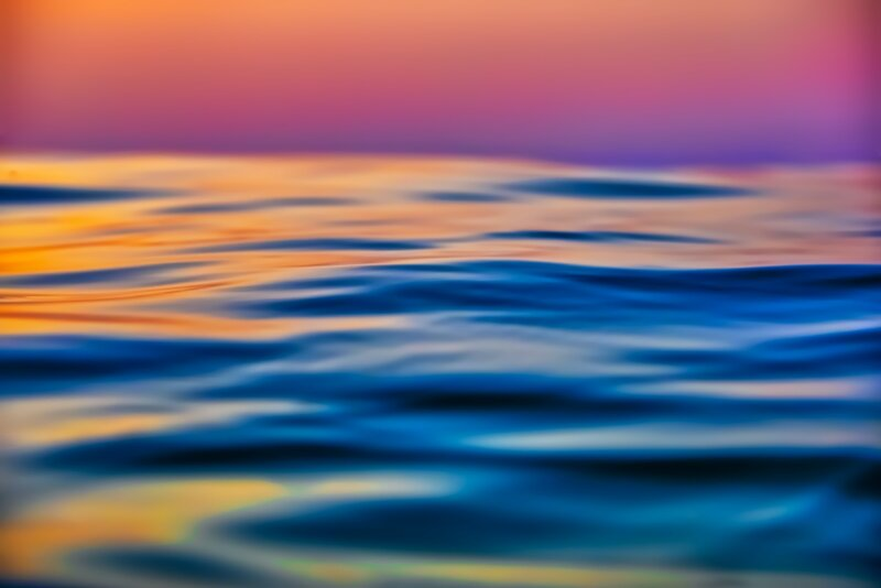 Image of calm and serene waters