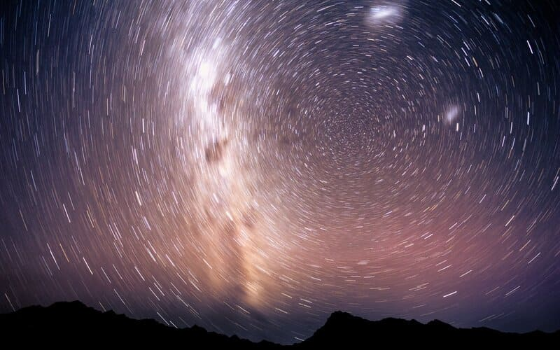 Image of stars circling in the sky symbolic of our soul purpose