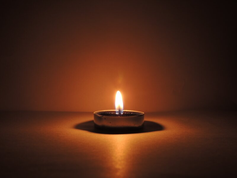 Image of a tealight candle