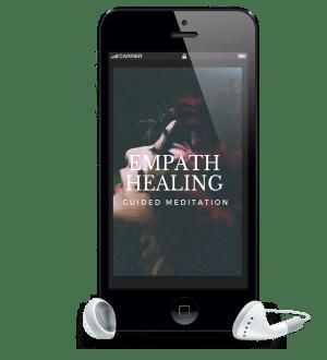 Empath healing meditation image