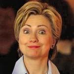 Hilary Clinton Raised Eyebrows